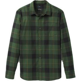 Prana Los Feliz Flanelowa koszulka Slim Mężczyźni, pine